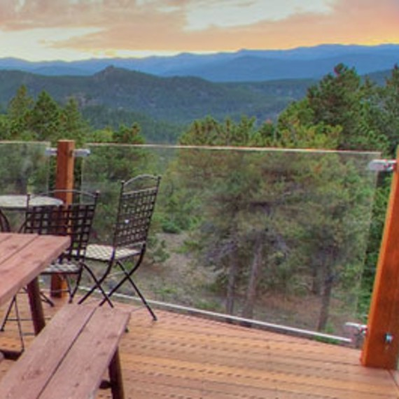 Easy DIY ways to keep your glass deck railing system clean and open for views