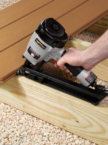 Install grooved deck boards easily and securely with Tiger Claw TC-G hidden deck fasteners