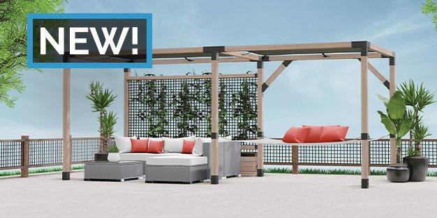 Shop the LINX Simplified Pergola System