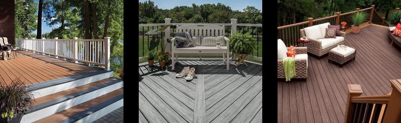 Trex composite deck boards
