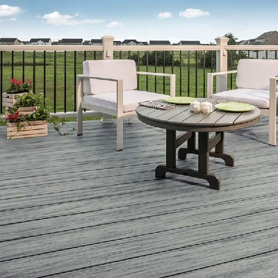 Shop the Trex Enhance decking line is offered in Basic and Natural tones to complete your outdoor space