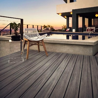 Trex Transcend deck boards are the most popular composite decking line with a rich array of colors available