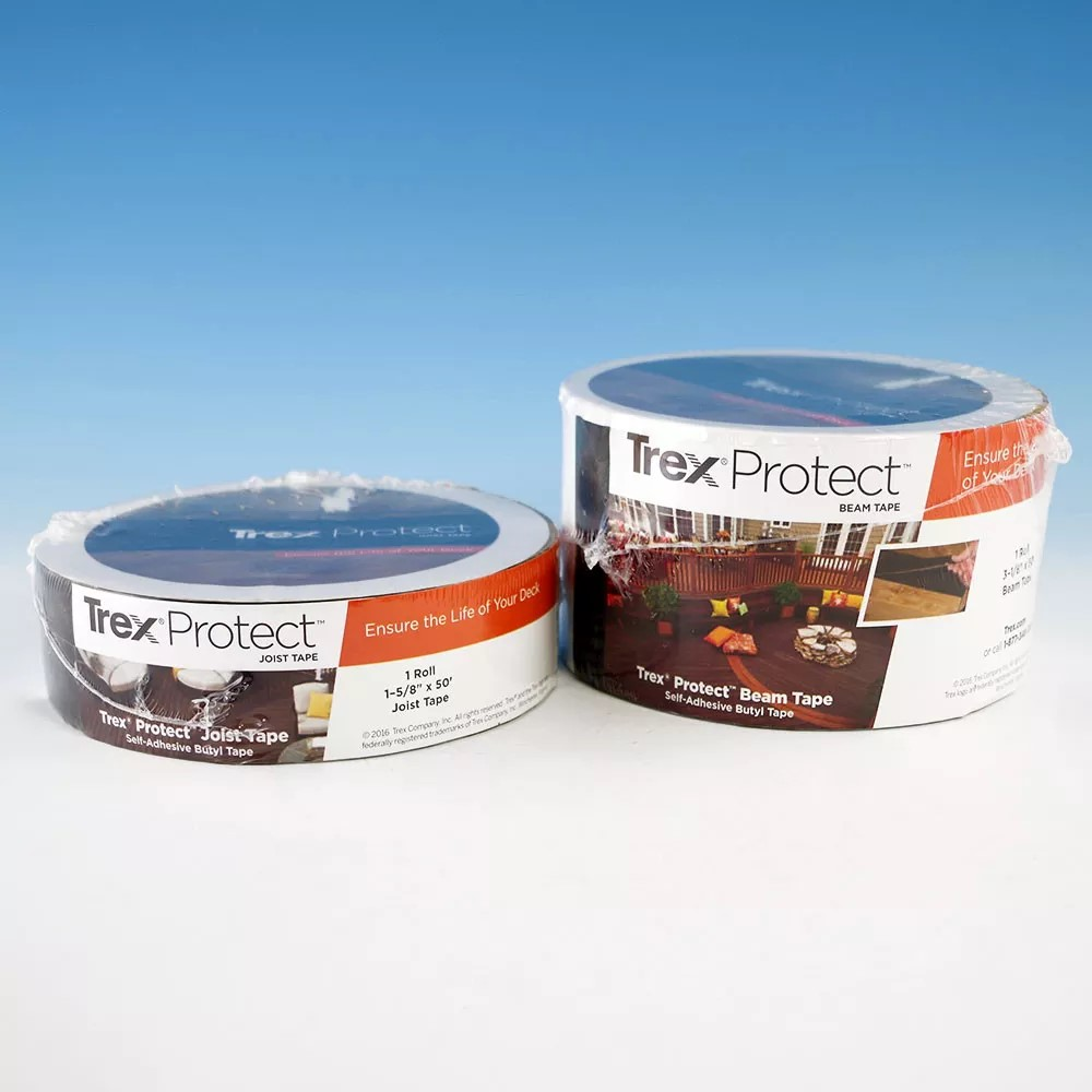 Keep your joists strong and clear with Trex Protect Self Adhesive Tape