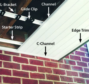 See how easy it is to install the UpSide Deck Ceiling system on your home with this piece by piece breakdown
