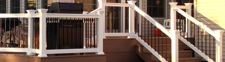 Composite & Vinyl Stair Railing