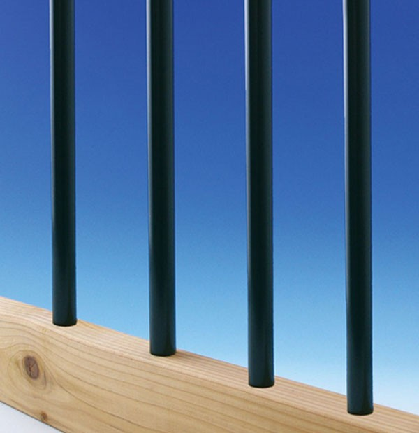 Decks Direct Round Aluminum Balusters