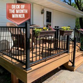 Families that build decks together stay together, Deck of the Month winner for July