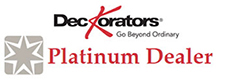 Deckorators Platinum Dealer Logo