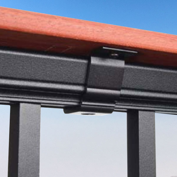 Drink Rail Adapter Prestige Aluminum Rail
