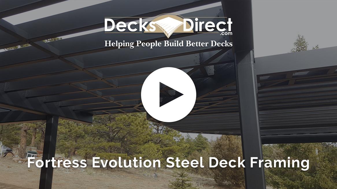 Fortress Evolution Steel Deck Framing System - video thumbnail