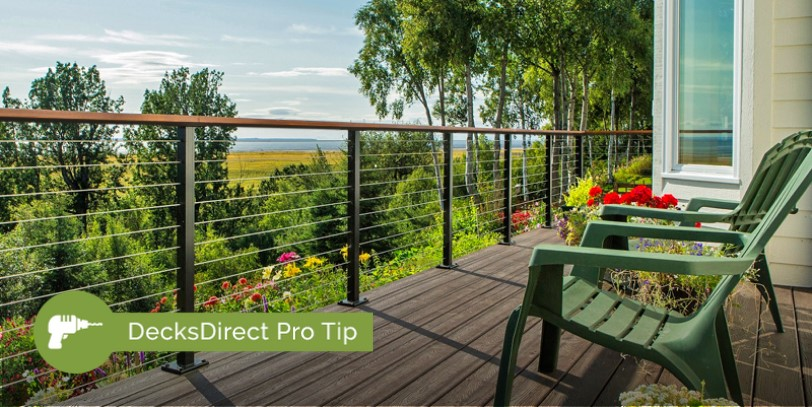 Create a gorgeous, open view with the stainless steel strength of Feeney CableRail on your outdoor space