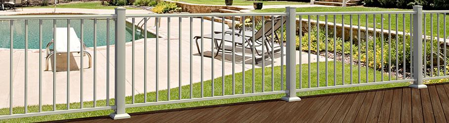 Fortress AL13 Aluminum Deck Railing System