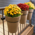 Put up your Fall Decorations Ideas outside easily with the Ring Bundle from Hold It Mate