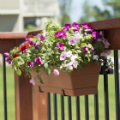 The Standard Bracket Bundle from Hold It Mate can help you decorate your deck area for fall