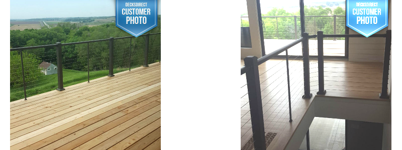 DIY-friendly with a professional finished look, the Prestige Cable Railing allows freedom of design with ease of install