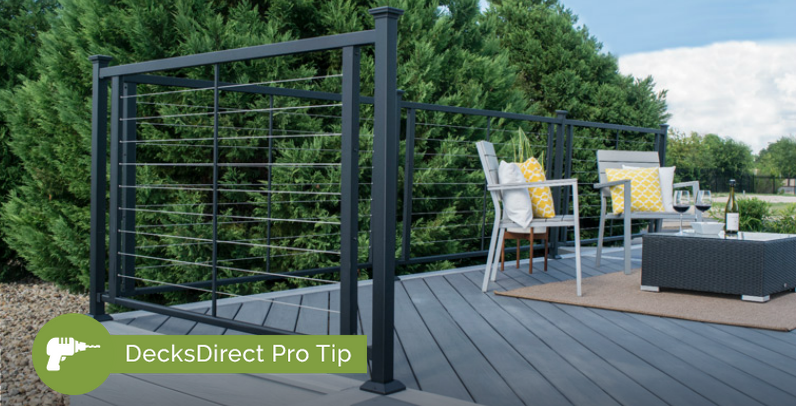 Find the best way to tension and tighten your cable deck railing system for a long-lasting look your neighbors will notice