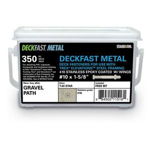 DECKFAST Deck Screws for Metal Framing