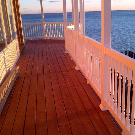 Durable Vinyl Railing