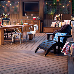 A Sophisticated Outdoor Bar
