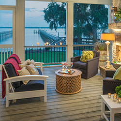 A Mosquito Free Screened Porch