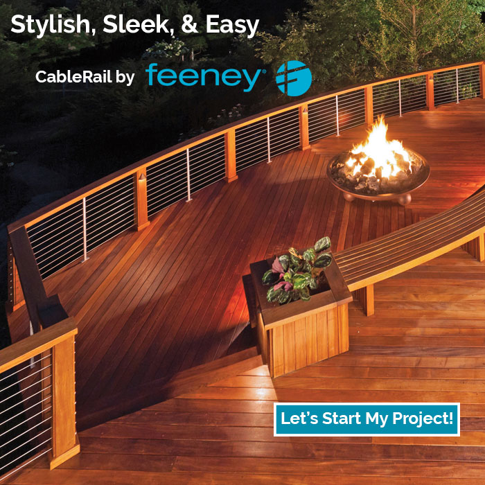 Make your space adapt to your style with the completely customizable Feeney DesignRail line