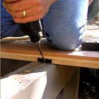 Metal Hidden Deck Fasteners
