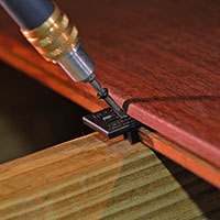 Synthetic Hidden Deck Fasteners