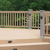 Railing Guide FAQs - Contrasting Railing Color