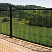 An example of glass railing