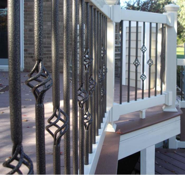 Fortress Iron Basket Balusters
