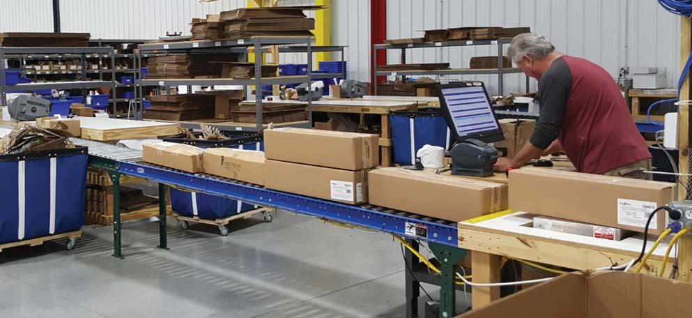 DecksDirect.com shipping station