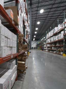 DecksDirect.com warehouse isle
