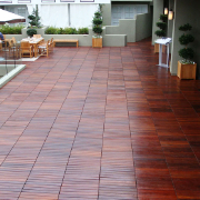 Mahogany Wood Tiles By Bison