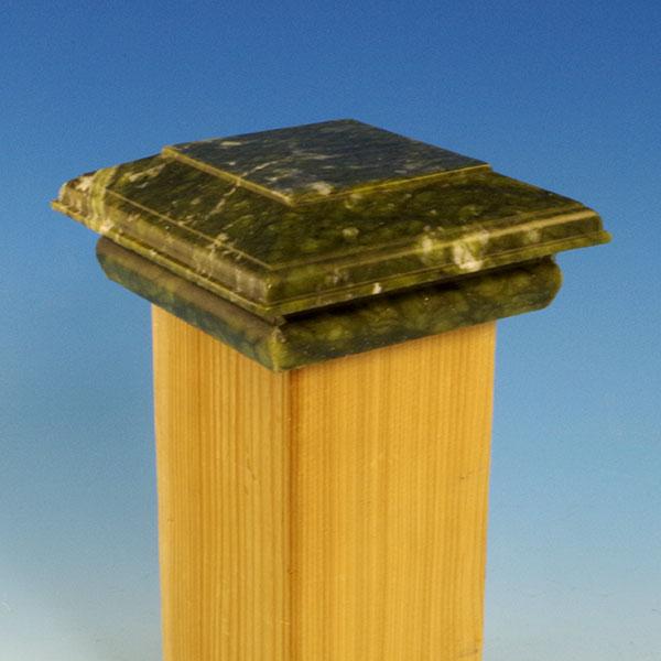 Serpentine Jade Post Cap by Outdoor Essentials