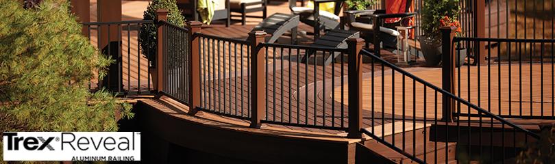 News & Updates - Trex Reveal Aluminum Railing - DecksDirect