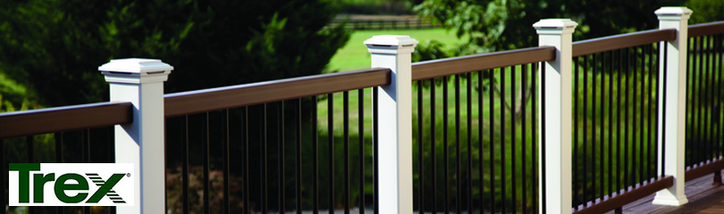 Transcend Baluster Packs by Trex - Textured Aluminum