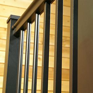 Afco Aluminum Railing Black