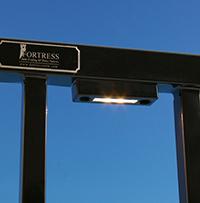 Rail light bu Fortress Accents
