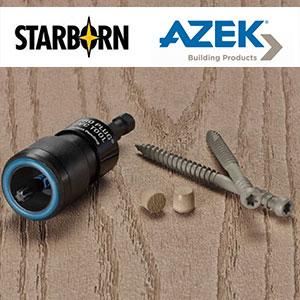 Azek Pro Plug PVC System