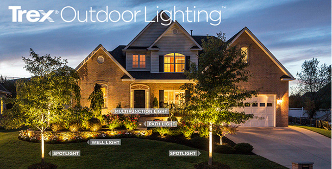 Trex LED Landscape Lighting