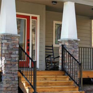 Aluminum Porch Stair Railing