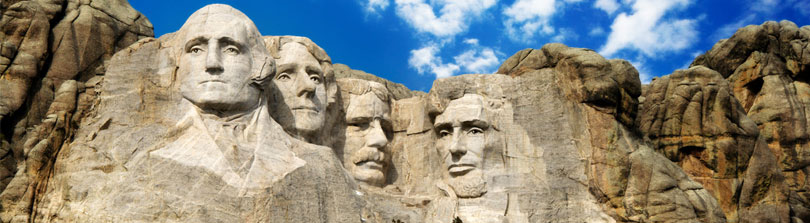 Mount Rushmore - Happy Presidents Day