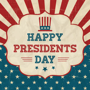 Happy Presidents Day Blog Post