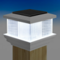 The Galaxy Solar Post Cap Light from LMT Mercer will provide a safe, warm glow to enjoy the evening outdoors comfortably