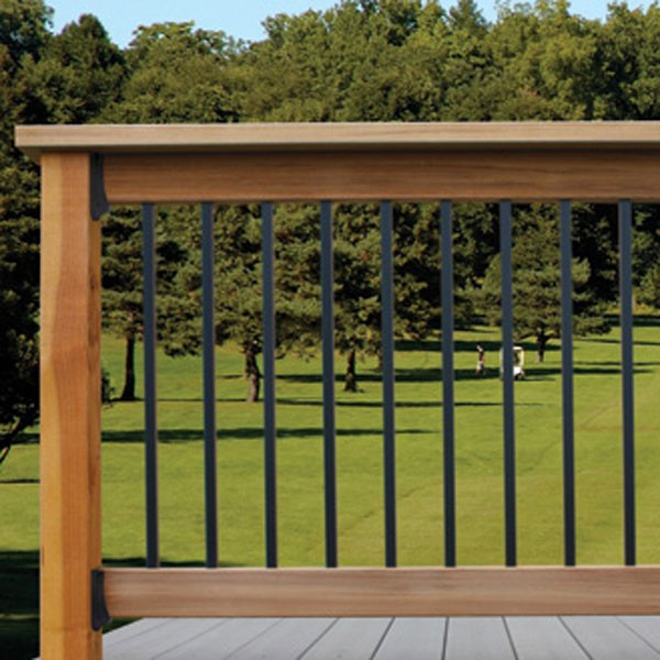 Round Aluminum Balusters by Solutions