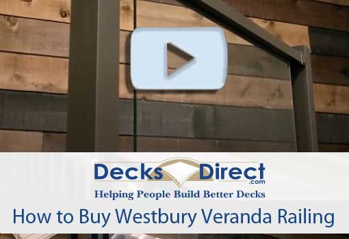 How to Buy Westbury Veranda Railing