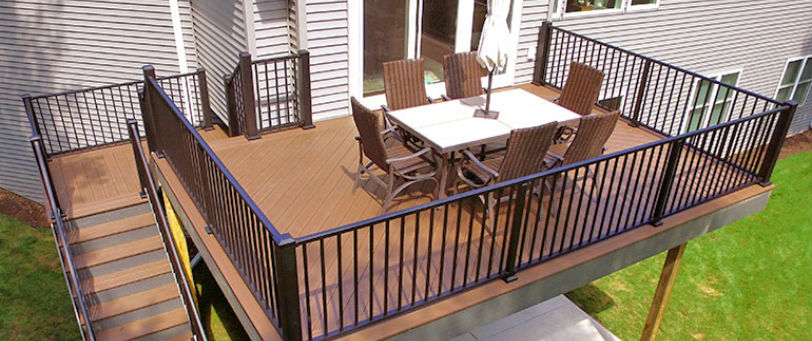Simple and timeless, the Westbury Tuscany deck railing line can add entirely new life to your home and outdoor space