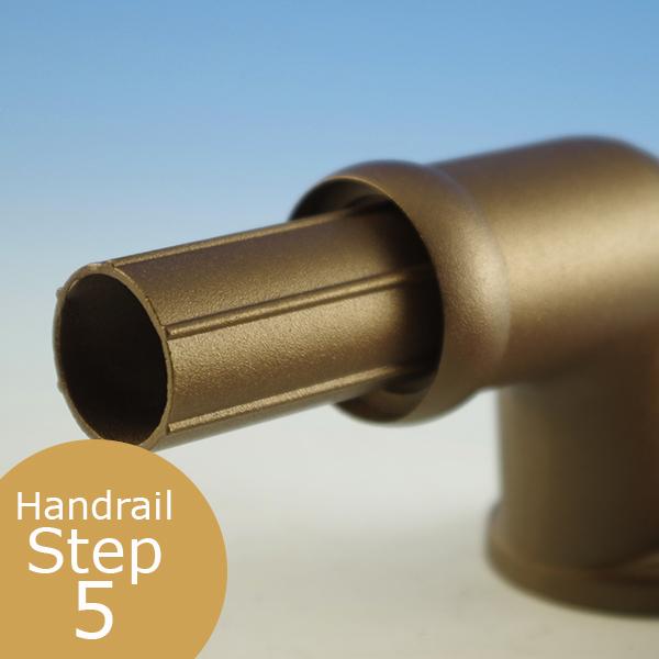 Wall Return Handrail Support
