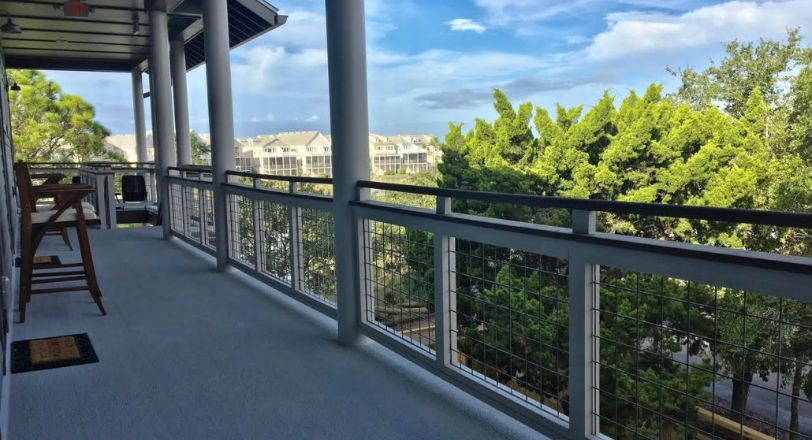 Create a unique look that keeps your view open with Wild Hog Pre-welded Railing Panels