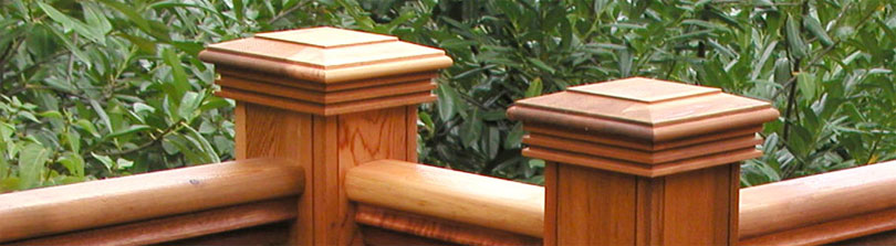 Woodway Decorative Post Caps Blog Post Banner